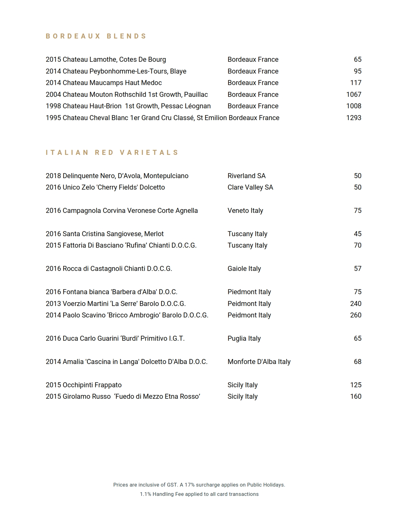 2019 06 05 Wine List 19