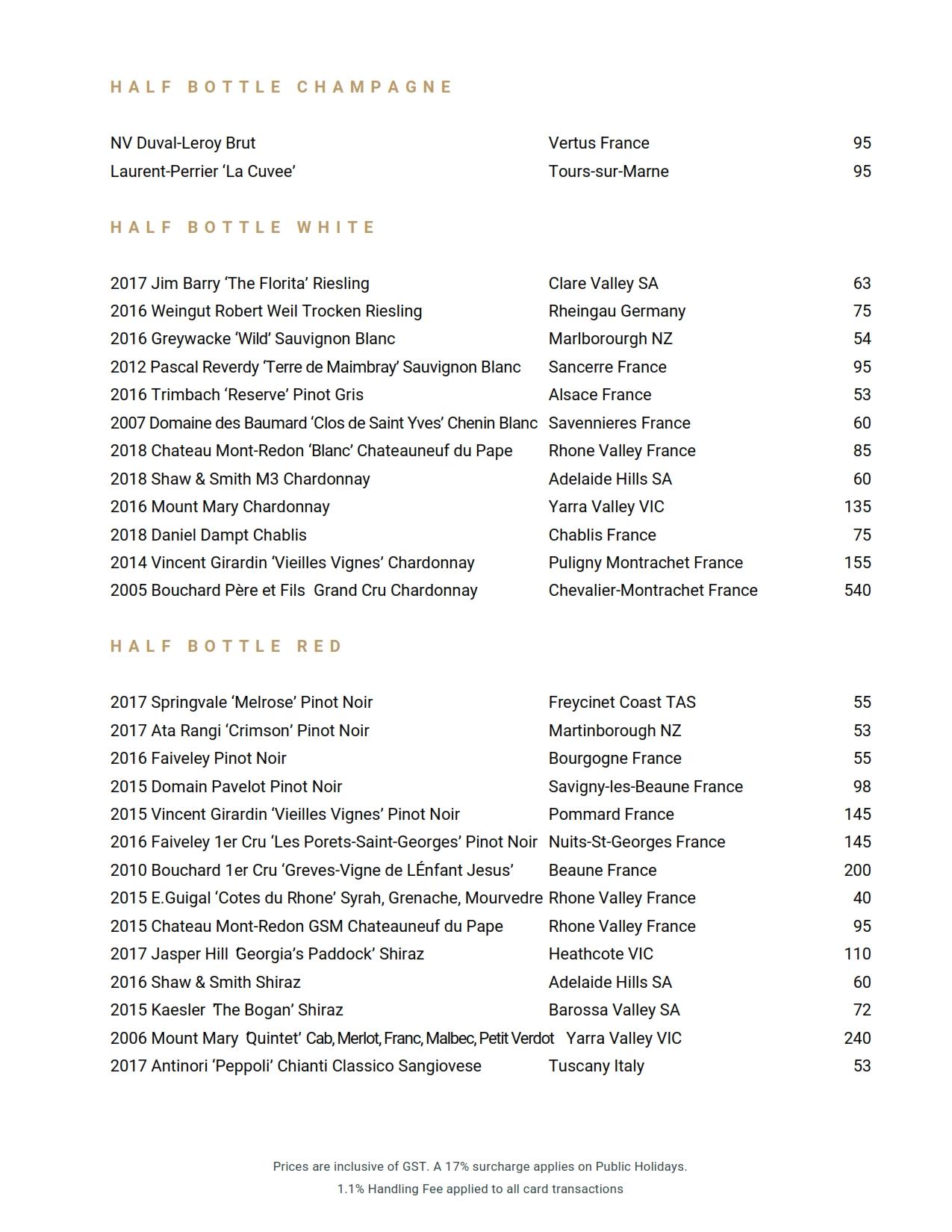 2019 11 15 Wine List 01