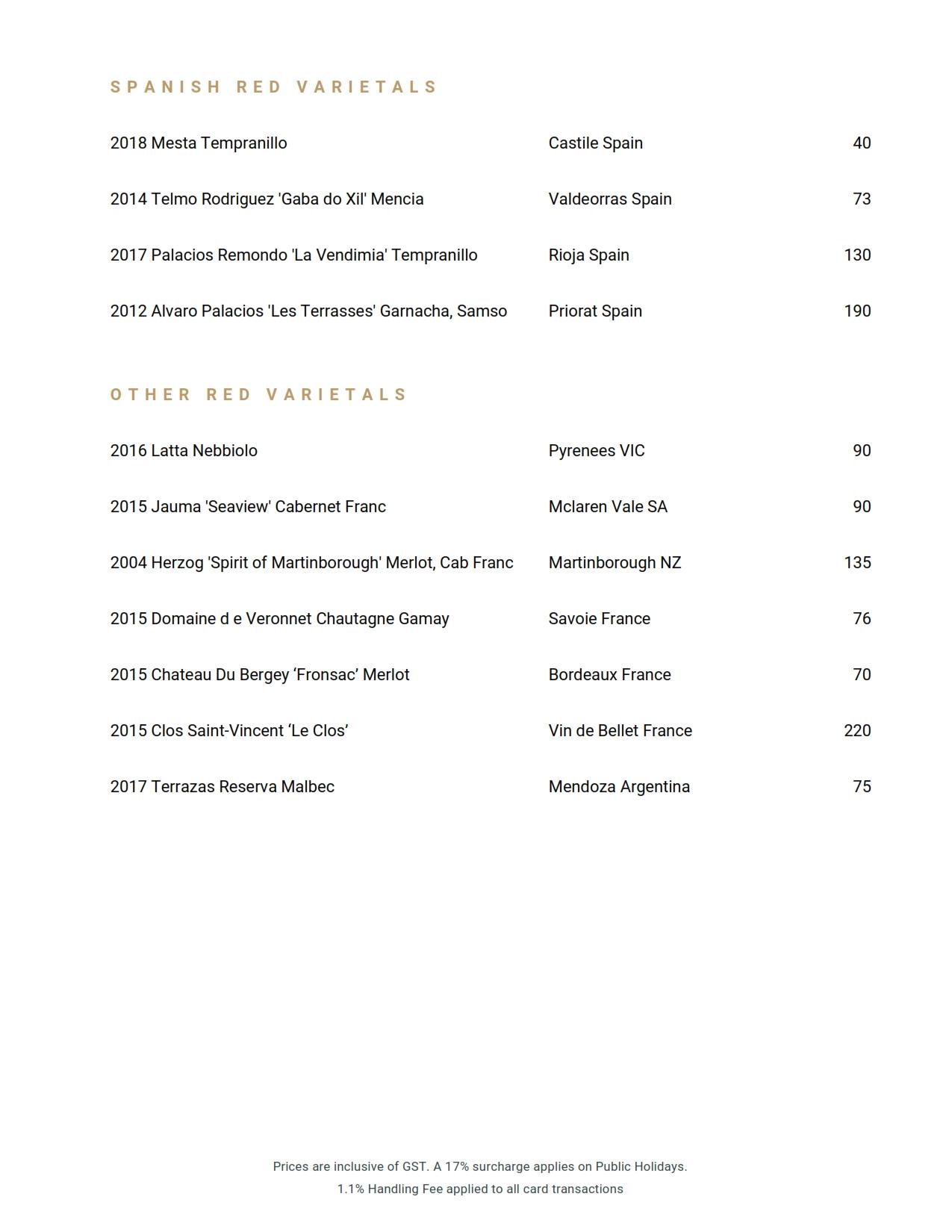 Wine List 2020 02 19 22