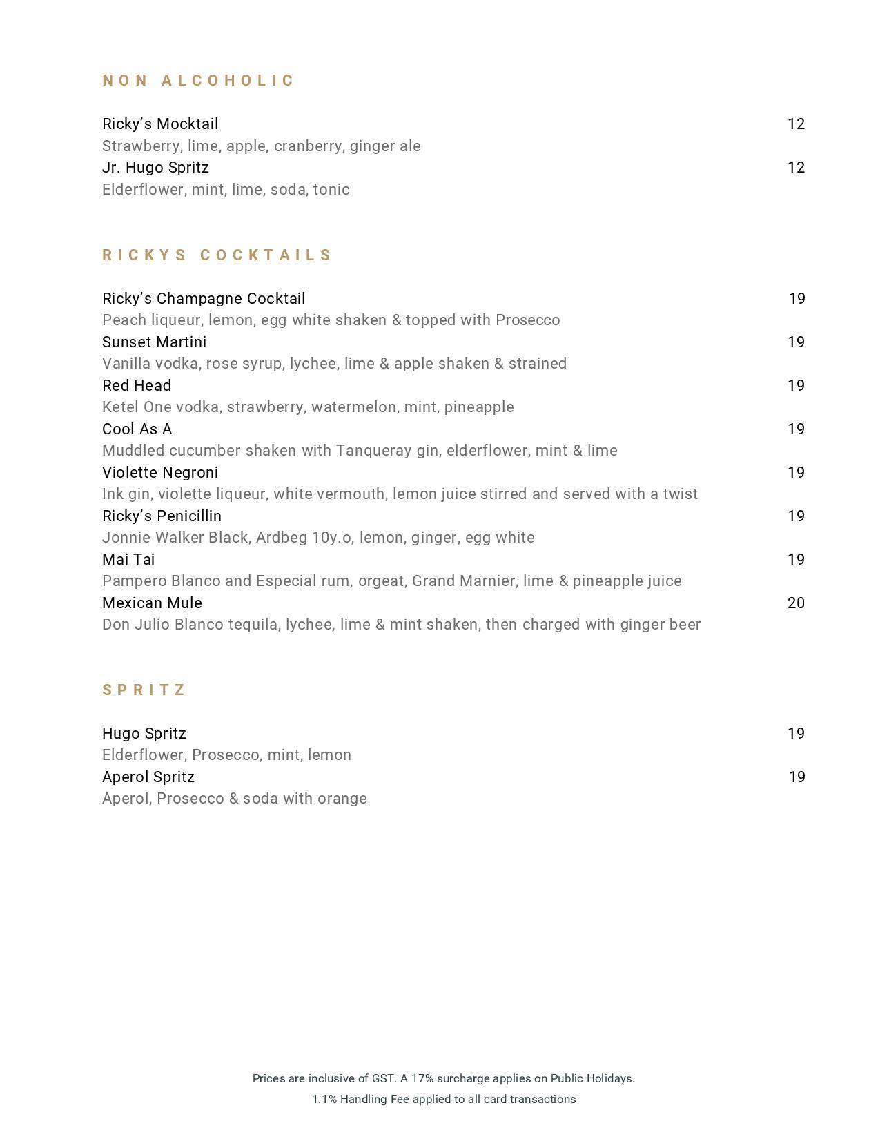 Beverage List 2020 07 31 02