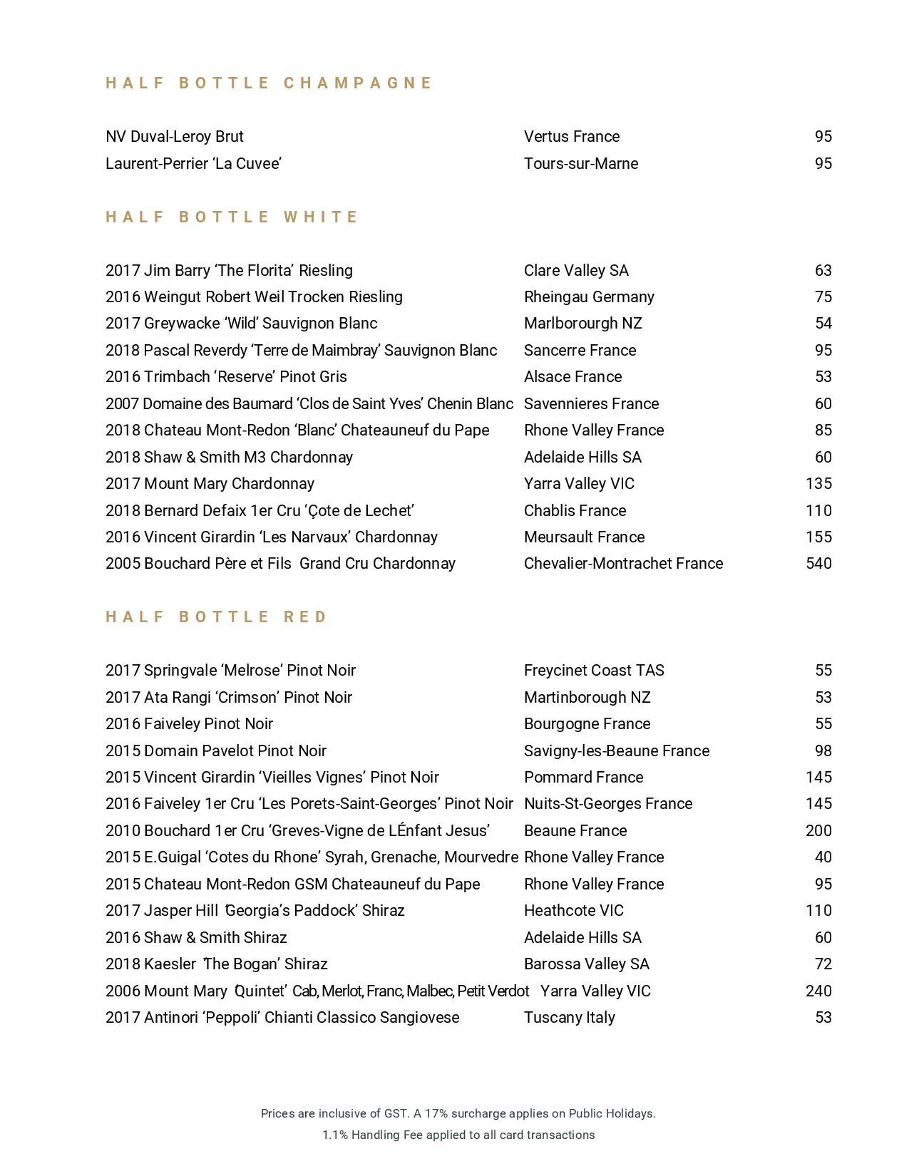Beverage List 2020 07 31 04