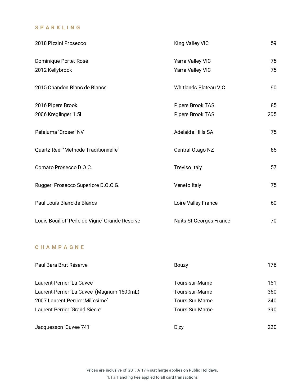 Beverage List 2020 07 31 05