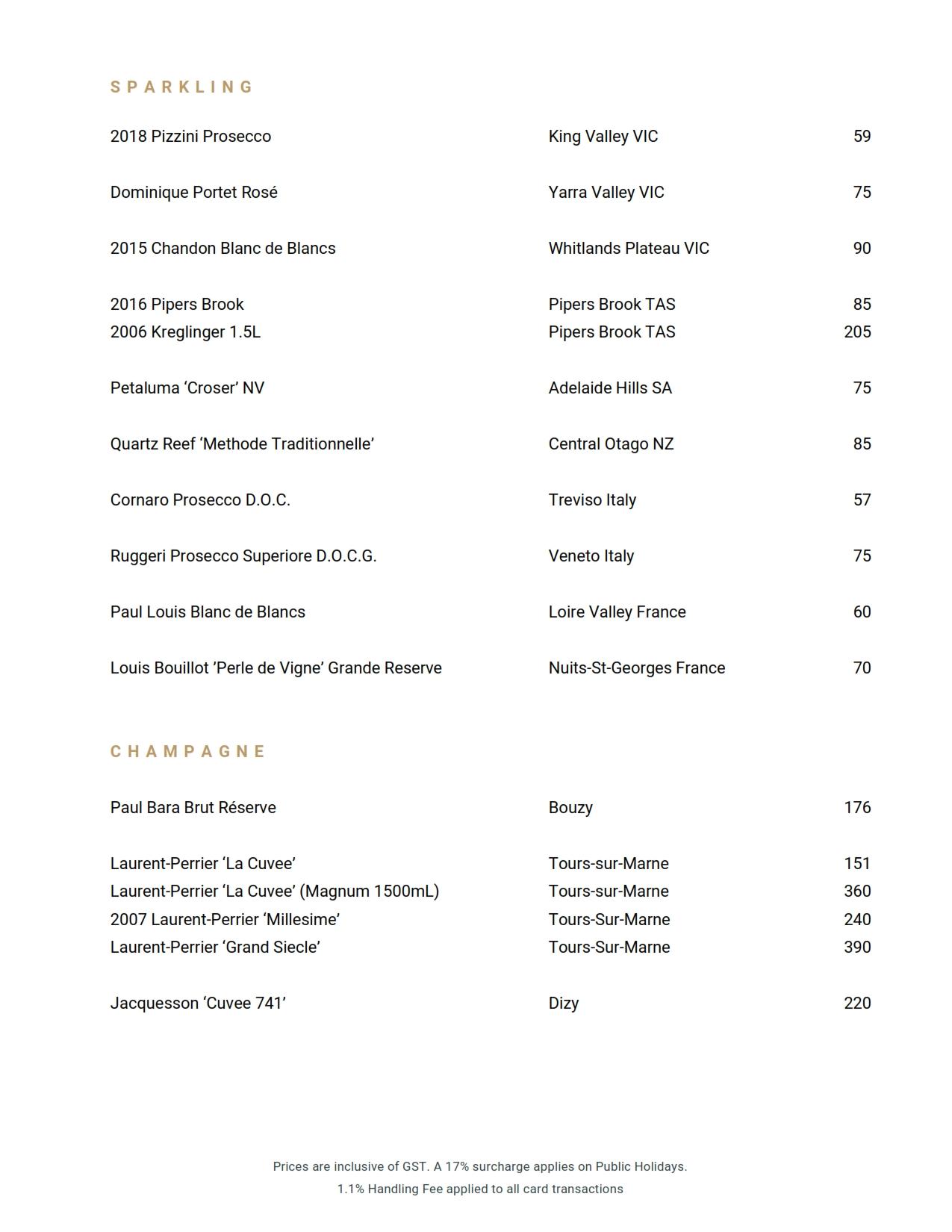 Beverage List 2020 10 07 06