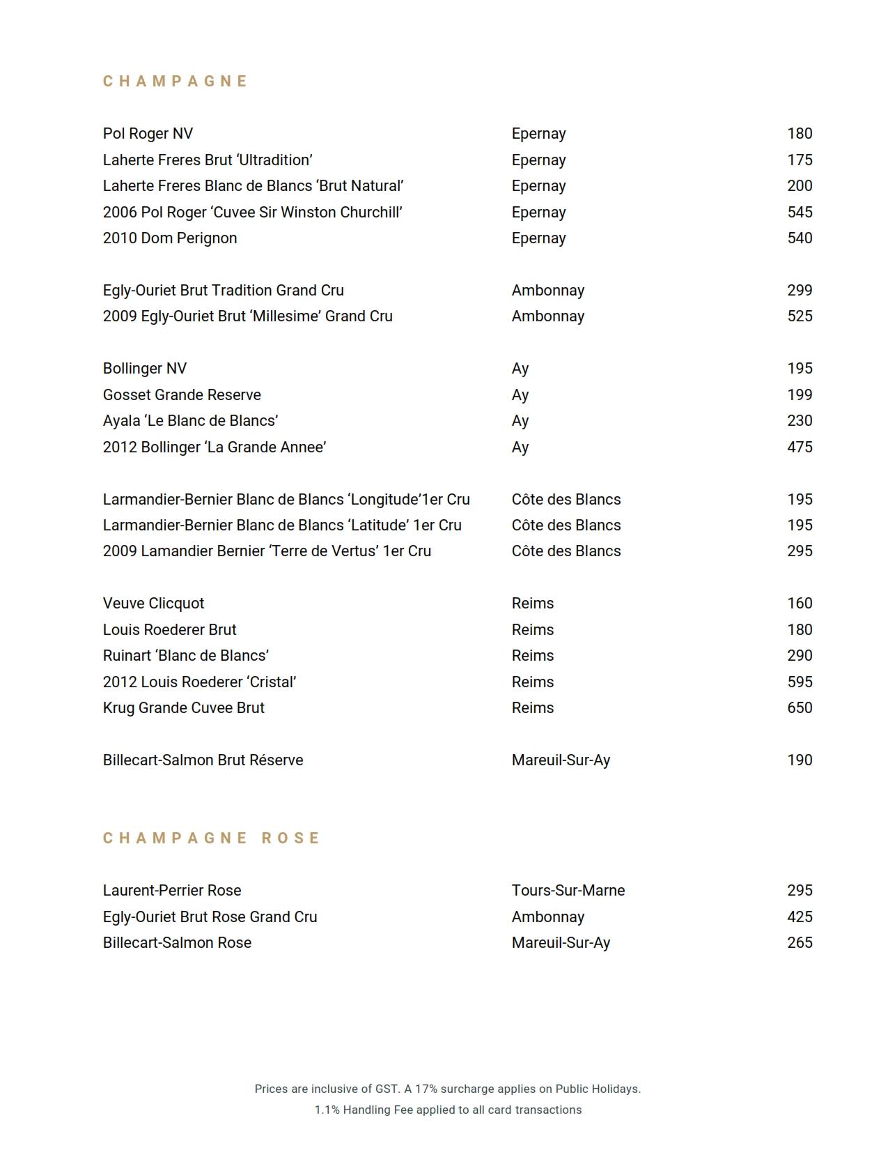 Beverage List 2021 04 09 07