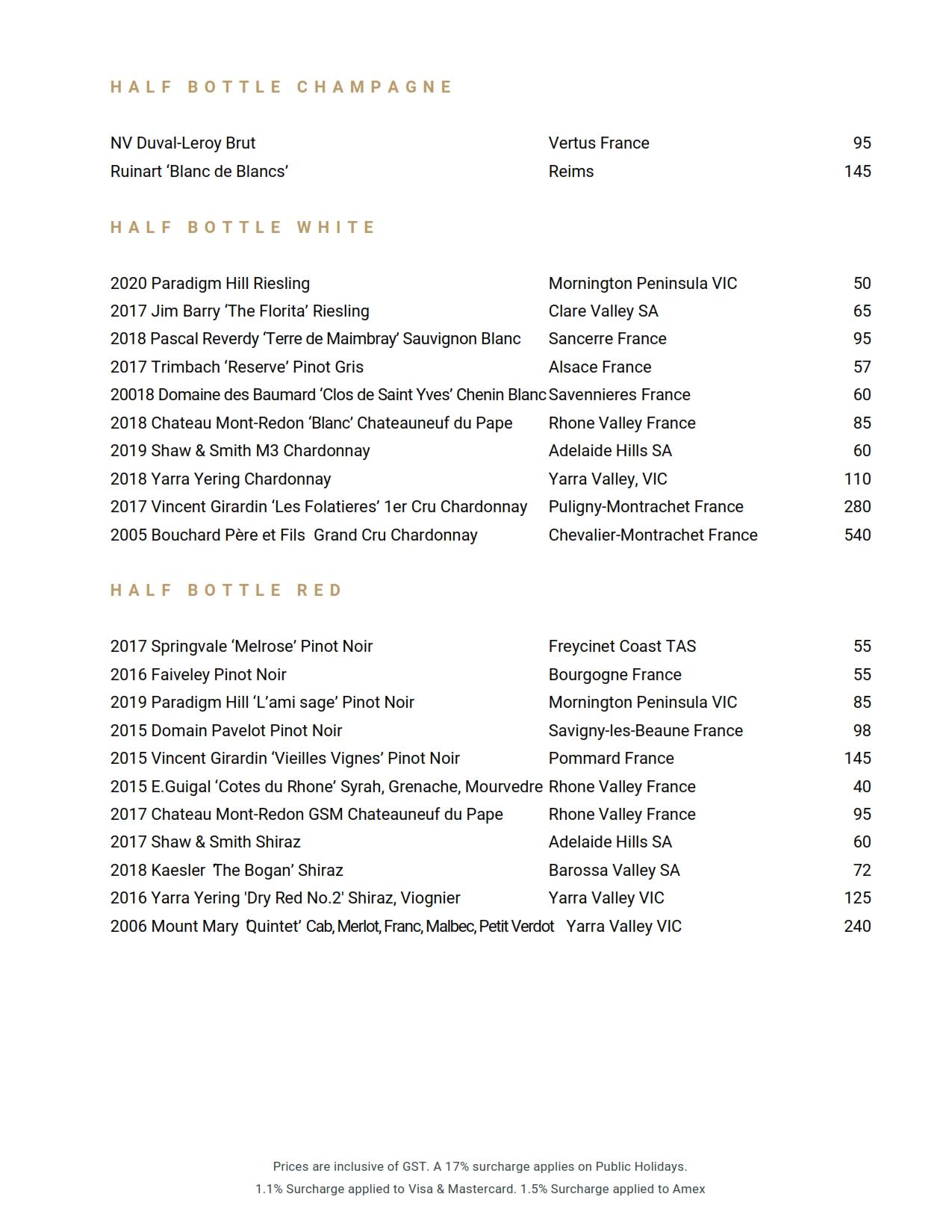 Beverage List 2021 06 01 04