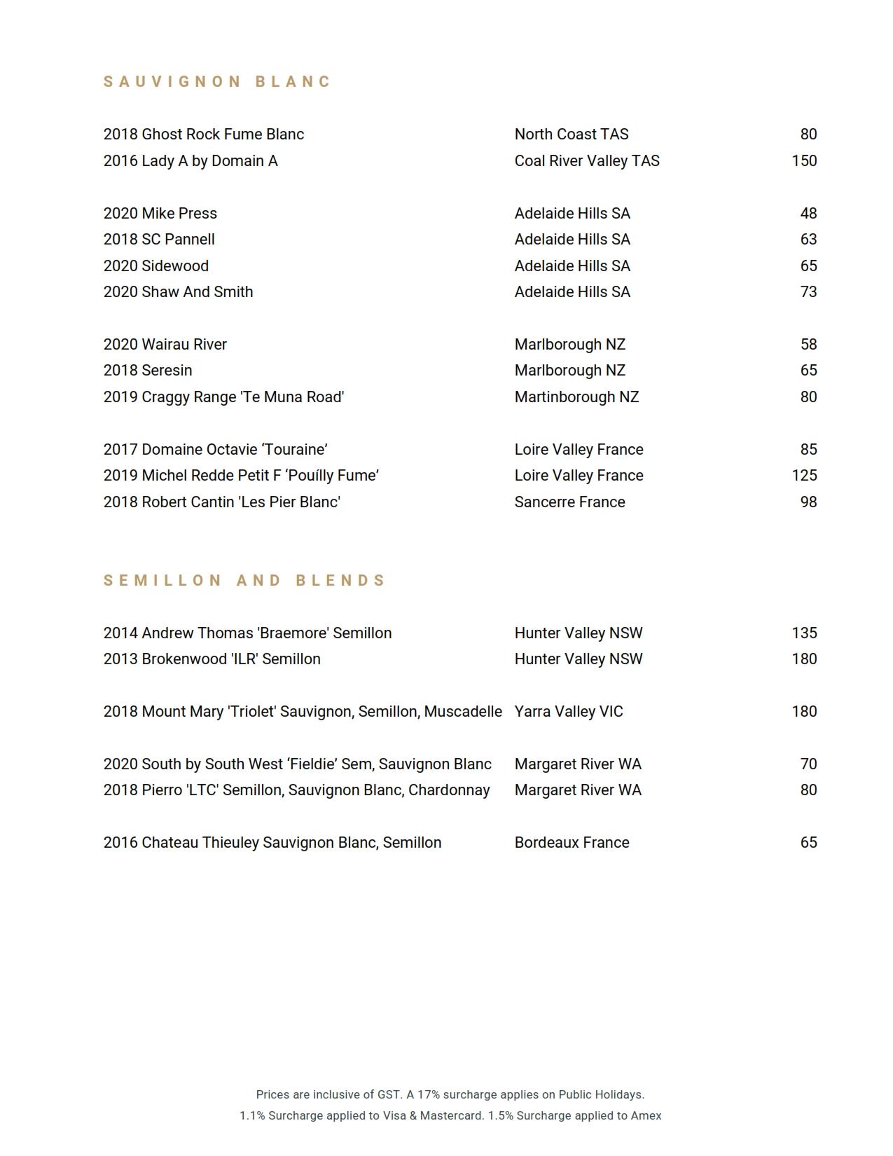 Beverage List 2021 06 01 09